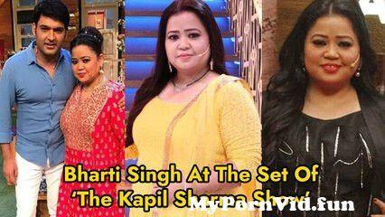 View Full Screen: bharti singh at the set of the kapil sharma show.jpg