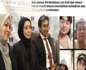 Perbicaraan kes saman fitnah Siti Nordiana ditangguhkan... hakim memberi saranan supaya selesaikan cara baik