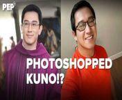 May akusasyong photoshopped at pinagmukhang bata raw ang mukha ng ni Father Ferdinand \